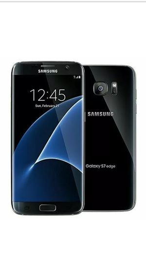 Samsung galaxy S7 edge unlocked 32G. Desbloqueado como nuevo for Sale in Alexandria, VA