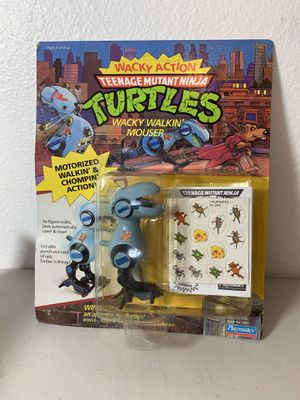 TMNT Wacky Walkin Mouser 1989 Collectible RARE for Sale in Beaverton, OR