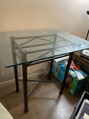 Glass table for Sale in Vancouver, WA