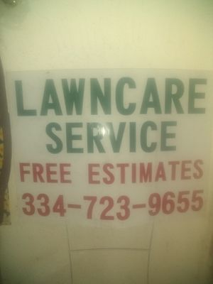 We do Grass Cutting for Sale in Hartford, AL