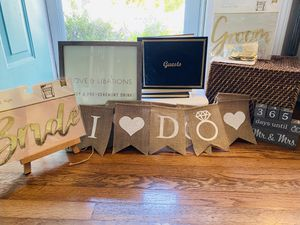 Engagement/Wedding Decor Kit for Sale in Braintree, MA