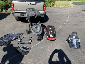 Baby items —car seat, stroller, car seat mirror for Sale in Bothell, WA