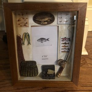 Fishing Photo Picture Box Frame for Sale in Loganville, GA