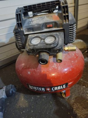 Porter-Cable compressor w/2nailers and 100' air hose for Sale in Salt Lake City, UT