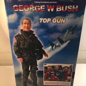 George W Bush top Gun Figurine for Sale in Fresno, CA