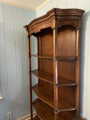 Ethan Allen solid wood bookshelf. for Sale in Delray Beach, FL