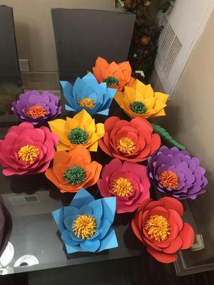 12 flores por $50 usted elije el color y diseño for Sale in Houston, TX