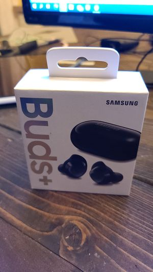 Samsung Galaxy Buds+. Sealed in box. for Sale in Portland, OR