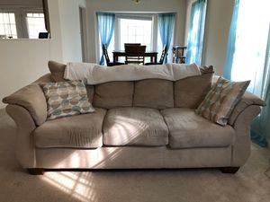 Light Beige Ashley Couch for Sale in Stafford, VA