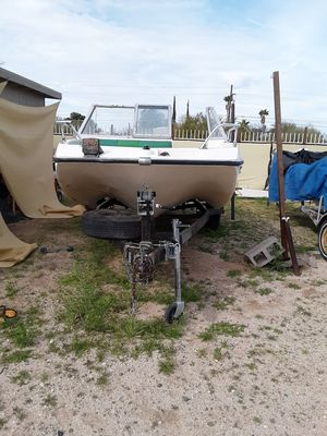 Larson 1650 Shark/45 HP Mercury Outboard/Trailer for Sale in Tucson, AZ