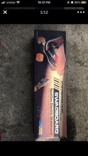 Swangboard electric skateboard for Sale in Houston, TX
