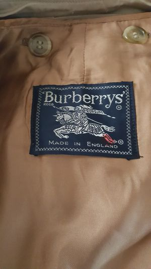 BURBERRY WOMENS COTTON COTTON GABARDINE TRENCH COAT for Sale in Oakland, CA