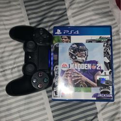 Ps4 Controller and madden 21 for Sale in Alexandria,  VA