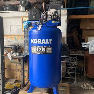 Brand New Kobalt 80 Gallon 5hp Air Compressor $800 for Sale in Miami, FL
