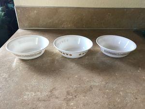 3 Pyrex bowls for Sale in Salem, OR