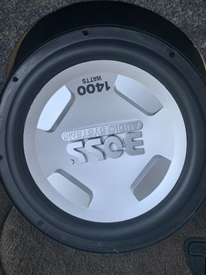 Subwoofer BOSS 12' 4 ohm 1400 watts for Sale in Auburndale, FL