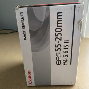 Canon EF-S 55-250mm f/4-5.6 IS Autofocus Telephoto Zoom Lens for Sale in Fort Worth, TX