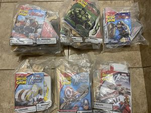 Avengers Build and Grow kits NEW for Sale in Hollywood, FL
