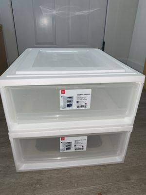 Plastic drawers for Sale in Chula Vista, CA