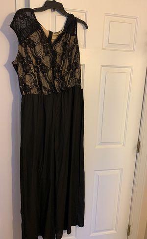XL gold/black jumper dress for Sale in Brunswick, OH
