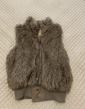Faux fur vest size medium for Sale in Atlanta, GA