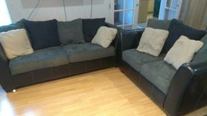 Sofa And Loveseat Set one price in great condition for Sale in Mesa, AZ