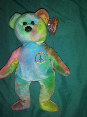 Peace Bear TY Beanie Baby for Sale in Carbon, IN