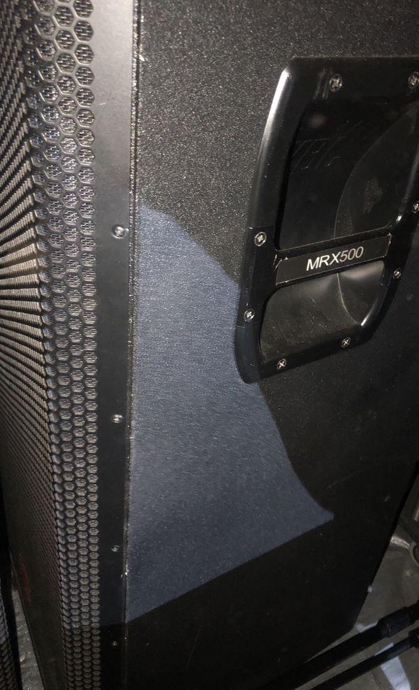 Jbl mrx subwoofer pro audio 528
