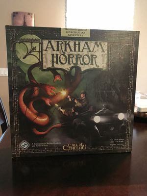 Arkham Horror 2nd edition board game for Sale in Elk Grove Village, IL