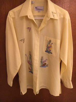 Long Sleeve Ladies Yellow Shirt for Sale in Buckhannon, WV