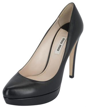 Miu Miu Leather Platform Heel for Sale in Dallas, TX