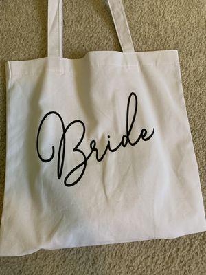 Bride, MOB, MOG tote bags for Sale in Roseville, MI