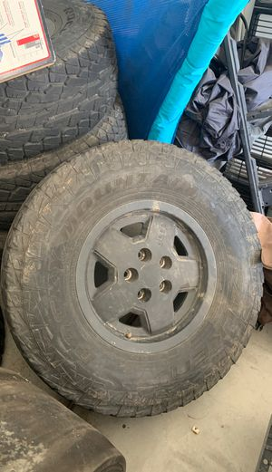 Jeep wheels and tires for Sale in Phoenix, AZ