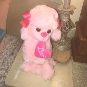 Dog Stuffed Animal- singing- not used for Sale in Carol Stream, IL