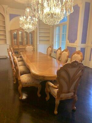Dining table and 10 Chairs Aico for Sale in Spring, TX