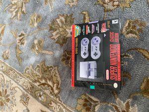 Totally new Super Nintendo for Sale in Nashville, TN
