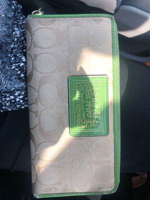 Coach poppy wallet for Sale in Inwood, WV