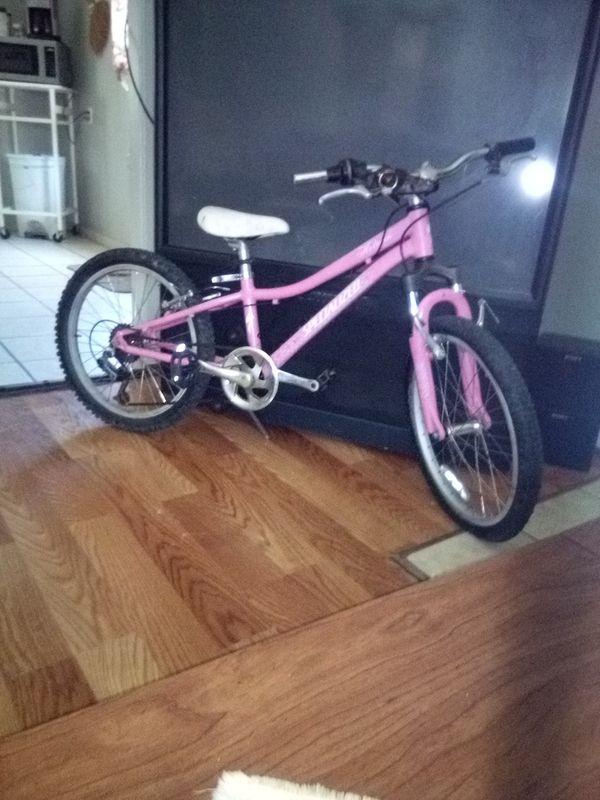 Girls fully geared bike