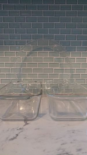 3-Piece Glass Bake🍰Set for Sale in Stockton, CA