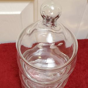 Princess House Heritage Glass Candy Dish Storage Container $23.00 for Sale in Carson, CA