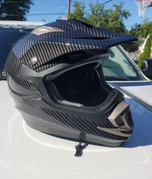 New adult size XL carbon fiber motocross helmet for Sale in Morton Grove, IL