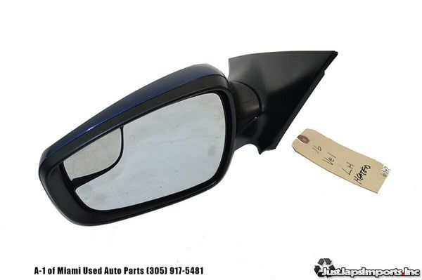 14-17 HYUNDAI VELOSTER OEM LEFT DRIVER DOOR HEATED MIRROR
