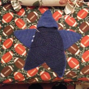 Beautiful Baby Outfit Crocheted Starfish With Hoodie. This Starfish Is Not Only Cute But Extremely Soft. for Sale in Terrebonne, OR
