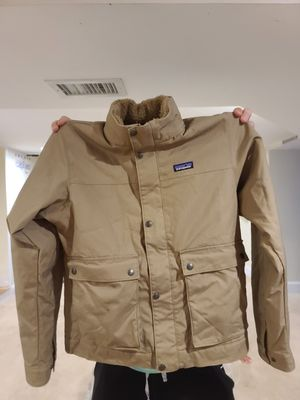 Men's Patagonia Maple Grove Canvas Jacket Size Medium for Sale in NEWTON U F, MA