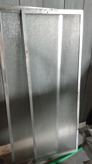 """Glass Shower doors w 22""""xh 63.2"""".brand new never used. for Sale in Bellflower, CA"""