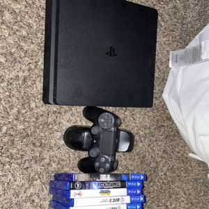 PS4, Games, Wireless Control, Control Charger, All Necessary Cords Including Control Charger Cord To Reset Controller for Sale in Whittier, CA