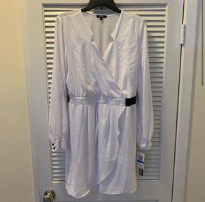 NWT XOXO White Chiffon Longsleeve Dress for Sale in Alexandria, VA