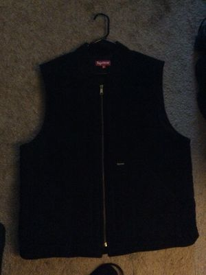 Authentic Supreme Vest - Black - size XL $100 CASH FIRM for Sale in Silver Spring, MD