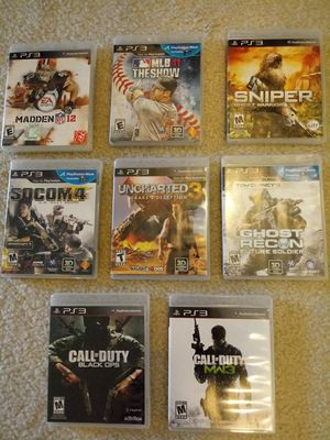 Playstation 3 Games (8) for Sale in Baltimore, MD