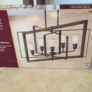New in box industrial chandelier for Sale in Costa Mesa, CA